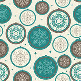 Abstract Christmas and New Year Seamless Pattern Royalty Free Stock Image