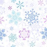 Abstract christmas pastel seamless pattern Royalty Free Stock Photos