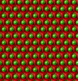 Abstract christmas pattern Stock Photography