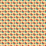 Abstract Christmas pattern wallpaper. Vector Royalty Free Stock Photography