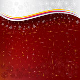 Abstract Christmas Red Background Stock Photo