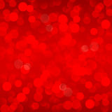 Abstract christmas red background with bokeh light. Christmas abstract red background with bokeh light royalty free illustration