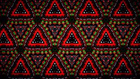 Abstract Christmas red white and green pattern wallpaper Royalty Free Stock Photography
