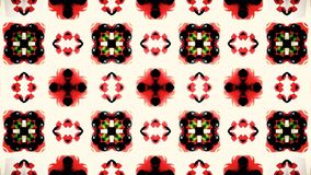 Abstract Christmas red white and green pattern wallpaper Royalty Free Stock Photos