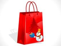 Abstract christmas sale bag Stock Photos