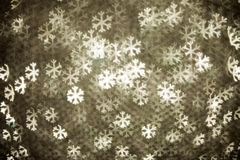 Abstract christmas snowflake Royalty Free Stock Images