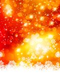 Abstract christmas with snowflake. EPS 10 royalty free illustration