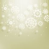 Abstract Christmas with snowflakes. EPS 10. Abstract Christmas background with snowflakes. EPS 10 Stock Photos