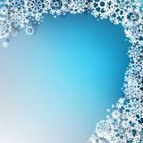 Abstract Christmas with snowflakes. EPS 10. Abstract Christmas background with snowflakes. EPS 10 Stock Images