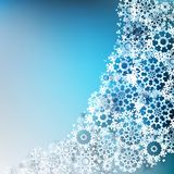 Abstract Christmas with snowflakes. EPS 10. Abstract Christmas background with snowflakes. EPS 10 Stock Image