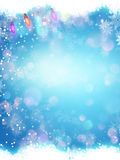 Abstract Christmas snowflakes. EPS 10. Abstract Christmas background with snowflakes. EPS 10 vector file included Royalty Free Stock Photo