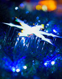 Abstract Christmas Star Stock Image