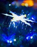 Abstract Christmas Star Stock Image
