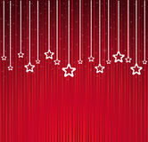 Abstract Christmas stars background Royalty Free Stock Photo