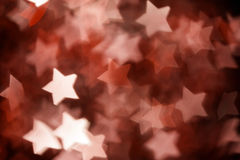 Abstract christmas stars. On background Stock Image