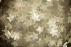 Abstract christmas stars Stock Photo
