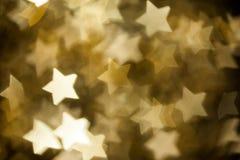 Abstract christmas stars Royalty Free Stock Photography