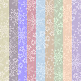 Abstract Christmas Striped Pastel Seamless Pattern