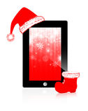Abstract Christmas Tablet Stock Images