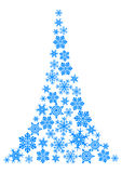 Abstract christmas tree vector illustration
