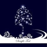 Abstract christmas tree. Vector illustration in AI-EPS8 format Stock Images