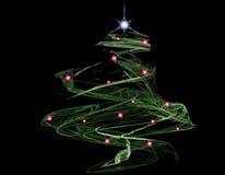 abstract christmas tree Στοκ φωτογραφία με δικαίωμα ελεύθερης χρήσης