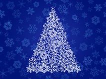 Abstract christmas tree Stock Photography