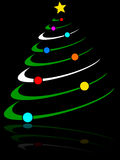Abstract Christmas Tree [2] Stock Photo