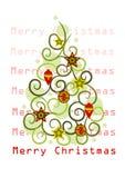 Abstract christmas tree -  Stock Photography