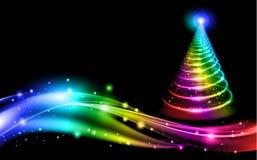 Abstract Christmas Tree royalty free illustration