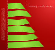 Abstract Christmas tree Stock Photos
