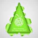 Abstract Christmas tree Stock Photos