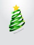 Abstract Christmas tree. Beautiful illustration of abstract Christmas tree Royalty Free Stock Image