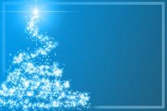 Abstract christmas tree Stock Photo