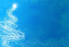 Abstract christmas tree Royalty Free Stock Photography