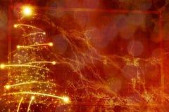 Abstract christmas tree Royalty Free Stock Photo