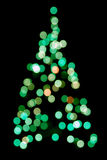 abstract christmas tree Στοκ φωτογραφίες με δικαίωμα ελεύθερης χρήσης