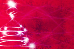 Abstract christmas tree Royalty Free Stock Photos