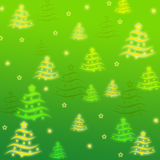 Abstract Christmas tree. Abstraction to be used for web page Royalty Free Stock Photography
