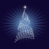 Abstract Christmas Tree Design Stock Photos