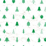 Abstract christmas tree pattern Stock Photography