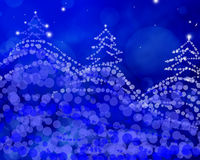 Abstract Christmas tree with some space for your text.  Stock Photos
