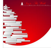 Abstract Christmas Tree. Abstract Christmas Tree, Vector Illustration, EPS 10 Royalty Free Stock Photos