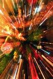 abstract christmas tree zoomed Στοκ Φωτογραφία