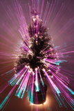abstract christmas tree zoomed Στοκ Εικόνες