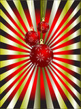 Abstract Christmas Vector Illustration Stock Photography