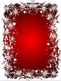 An abstract Christmas vector illustration Royalty Free Stock Photography
