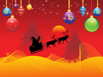 Abstract christmas wallpaper Stock Images