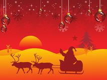 Abstract christmas wallpaper Royalty Free Stock Photography