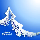 Abstract Christmas winter Background Royalty Free Stock Photography